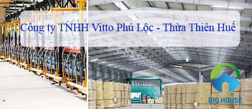 Công ty TNHH Vitto Phú Lộc Huế – Quy mô lớn – Chất lượng hoàn hảo