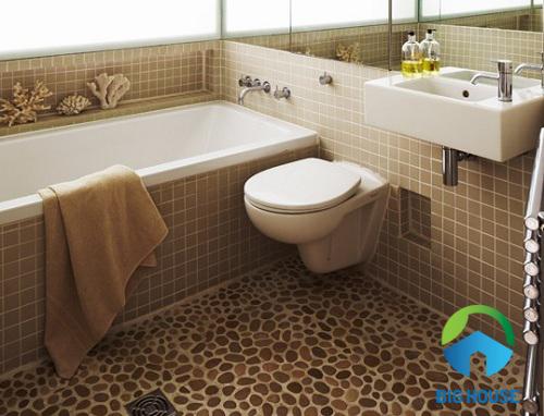 Cách chọn gạch sỏi cho nhà tắm