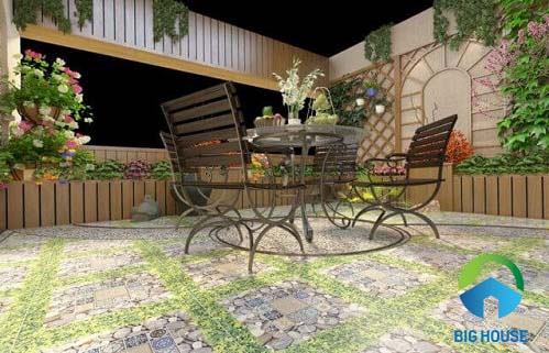 Mách bạn Cách chọn gạch lát sân vườn Vitto đạt HIỆU QUẢ tối ưu nhất