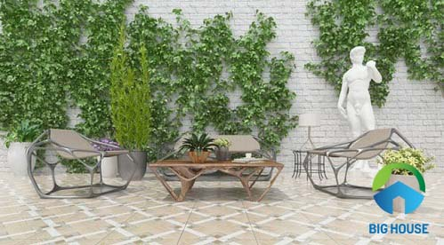 gạch lát sân vườn vitto cho gia đình bạn