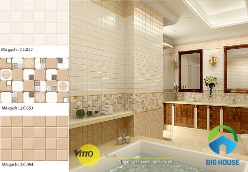 gạch ốp nhà vệ sinh vitto 5