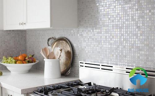 mẫu gạch ốp tường bếp vitto