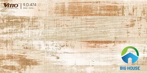 mẫu gạch ốp tường phòng ngủ Vitto ấn tượng