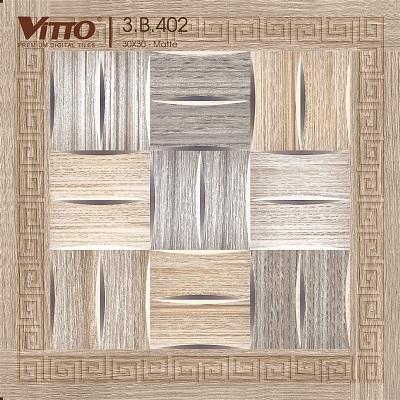 Gạch Vitto 3B402 lát nền 30×30