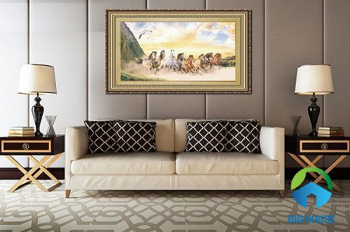 giá gạch tranh ốp tường vitto
