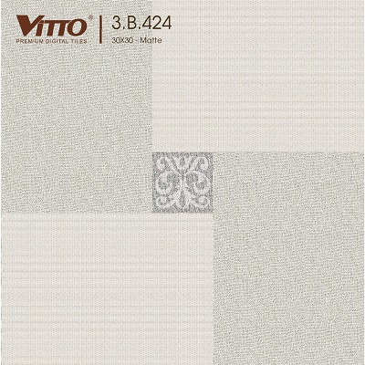 Gạch Vitto 3B424 lát nền 30×30