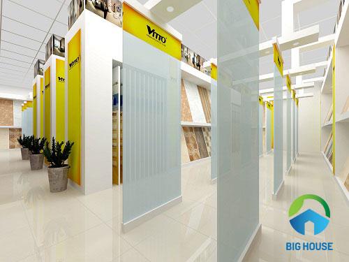 công ty gạch Vitto với hệ thống phân phối rộng lớn