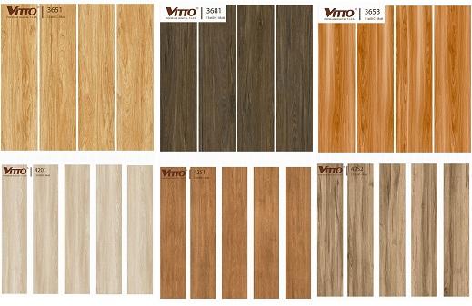 Các mẫu gạch lát ban công giả gỗ đẹp
