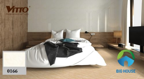 gạch vitto 30x45 trắng cho phòng ngủ