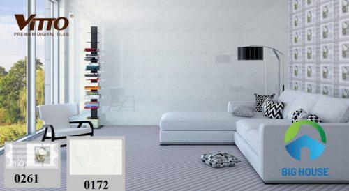 Sử dụng gạch Vitto 30×45 trắng Hiệu quả với tiêu chí 3 KHÔNG cần nhớ
