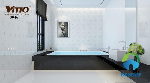 Gạch ốp tường Vitto 30x60 trắng