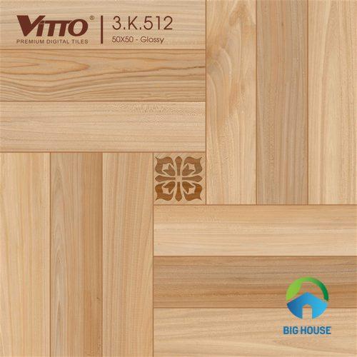 Gạch vân gỗ Vitto 50x50 2