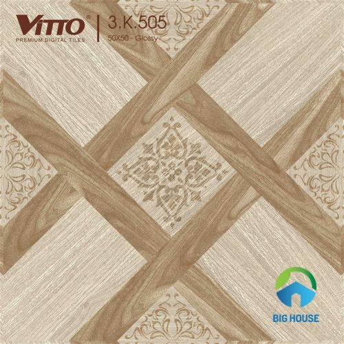 Gạch vân gỗ Vitto 50x50 3