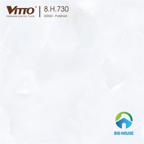 mẫu Gạch Vitto 60x60 trắng