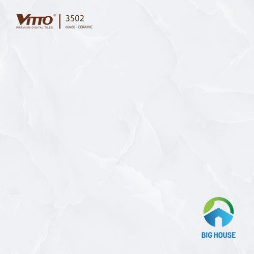 Gạch Vitto 60x60 trắng đẹp mắt