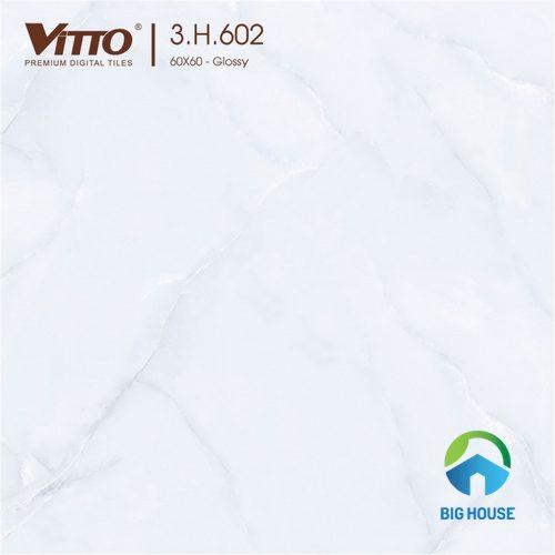 Gạch Vitto 60x60 trắng ấn tượng