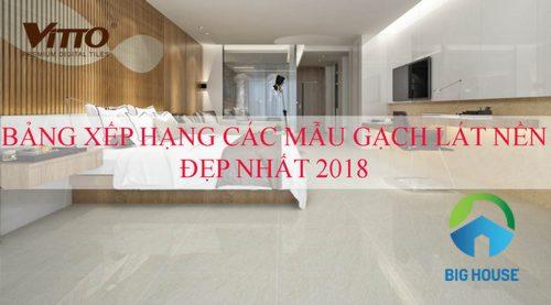 TOP những mẫu gạch lát nền đẹp 2018 chuẩn xu thế nội thất mới