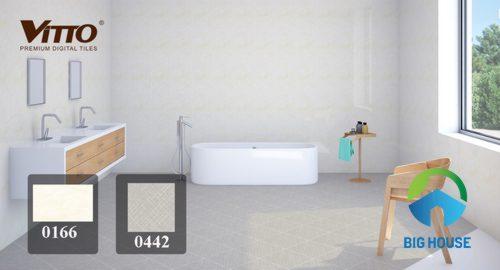 Gạch ốp nhà tắm vitto 1
