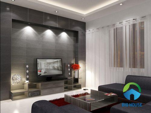 Phối màu gạch ốp tường phòng khách và SAI LẦM nhất định cần tránh