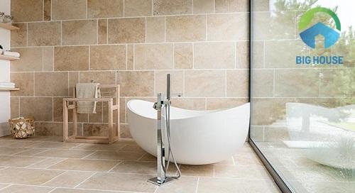 Mẫu gạch chống trơn cho nhà tắm