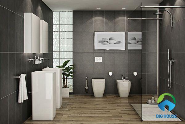 Gợi ý TOP mẫu gạch giả gỗ nhà tắm chống trơn hiệu quả 2021