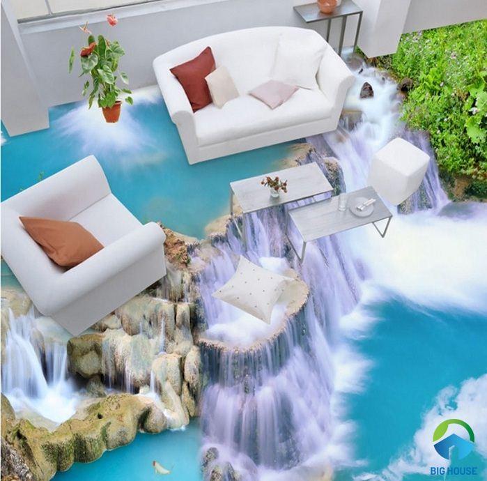 99+ mẫu gạch 3d trang trí phòng khách SIÊU ĐẸP năm 2020
