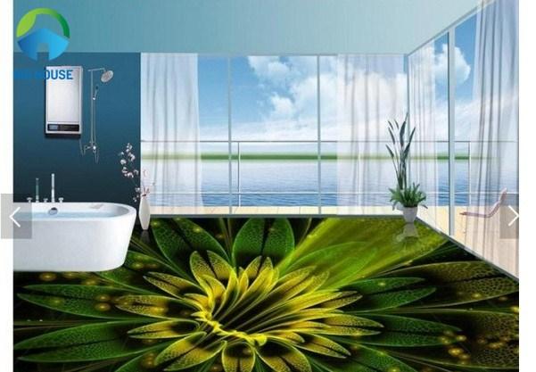 gạch 3d ốp tường phòng tắm 7