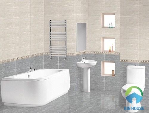 mẫu gạch ceramic 400x400 cho nhà tắm