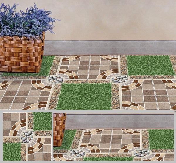 gạch cỏ chống trơn