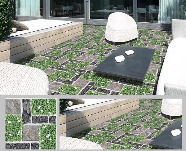 TOP 30 mẫu gạch cỏ lát sân vườn ĐẸP ẤN TƯỢNG kèm cách chọn