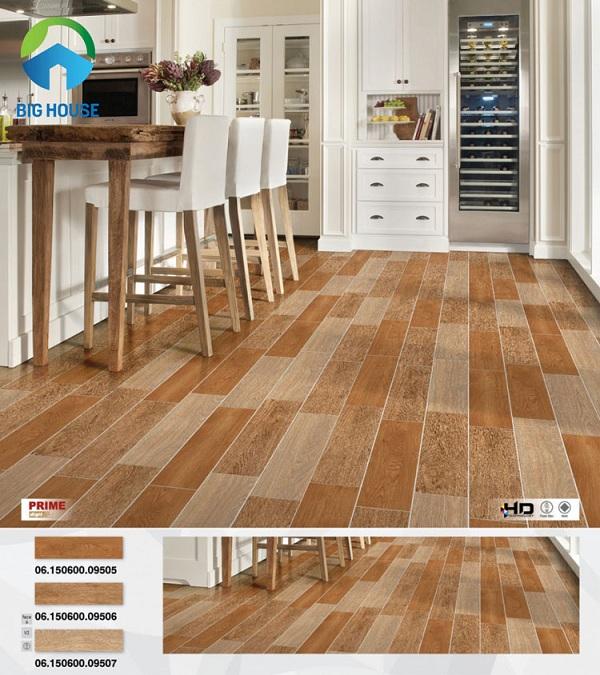 gạch giả gỗ lát nền prime