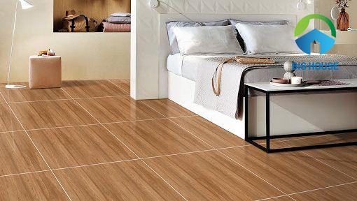 10+ Mẫu gạch giả gỗ lát phòng ngủ Đẹp, Ấm cúng nhất 2021