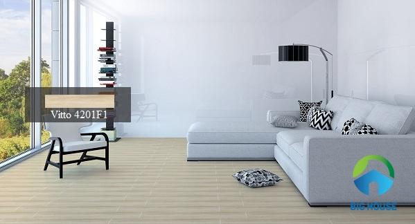 12 Mẫu Gạch giả gỗ phòng khách 60×60, 15×80 Đẹp Lôi Cuốn