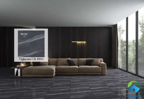 Mẫu gạch lát nền Viglacera đẹp mắt mang đến sự sang trọng và huyền bí cho không gian sở hữu