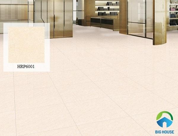 Mẫu gạch lát nền tông màu hồng nhẹ nhàng phù hợp nhiều không gian