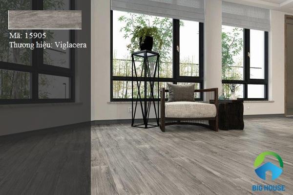 gạch lát nền giả gỗ kích thước 15x90 sang trọng
