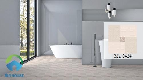 gạch lát nền nhà vệ sinh kích thước nhỏ, đẹp mắt