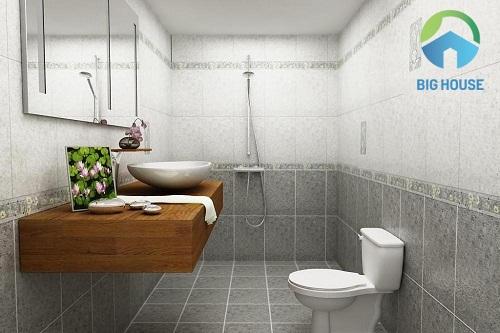 gạch lát nền nhà vệ sinh kích thước nhỏ