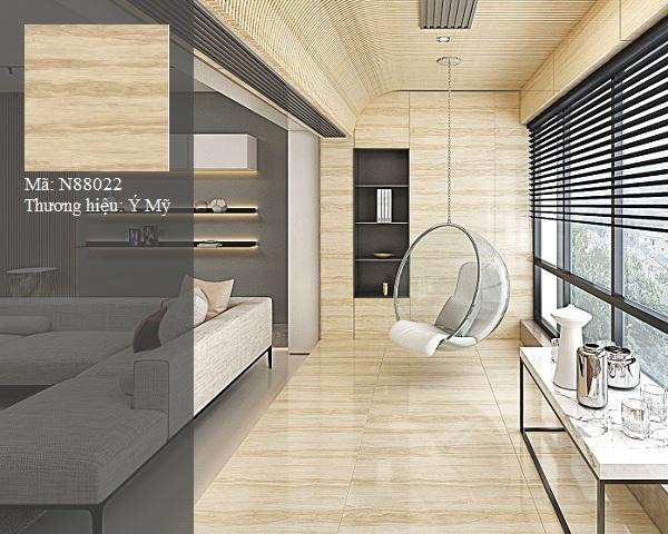 gạch lát nền vân gỗ ý mỹ 80x80 sang trọng