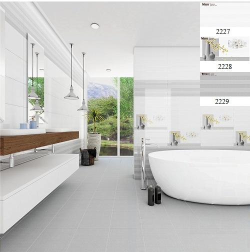 Gạch ốp nhà vệ sinh Vitto
