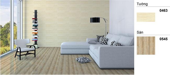 mẫu gạch ốp tường phòng khách Vitto Chất lượng cao