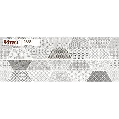 Gạch ốp tường 30×80 Vitto 2688