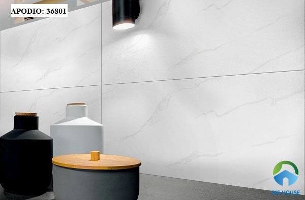 gạch ốp tường bếp màu trắng 3