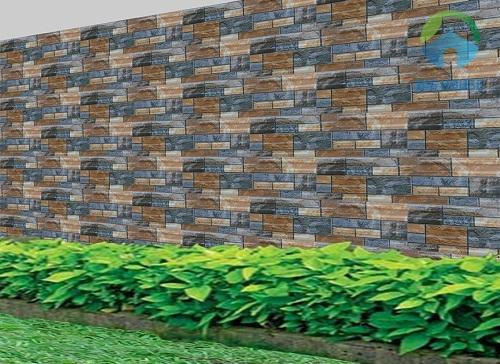 gach ốp tường hàng rào
