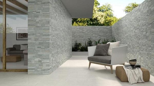 TOP 18 mẫu gạch ốp tường sân vườn trước, sau nhà Đẹp nhất