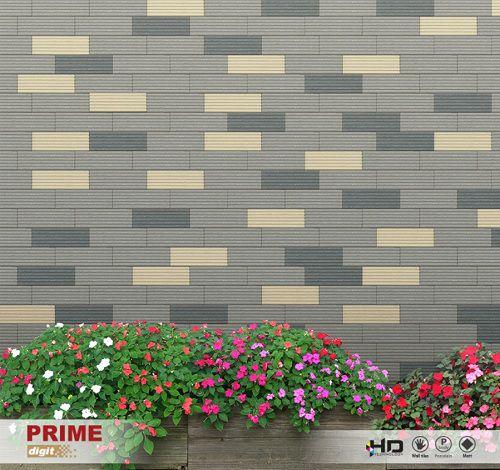Gạch ốp tường sân nhà