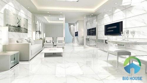 Mẫu gạch Porcelain 60x60 cho không gian sang trọng