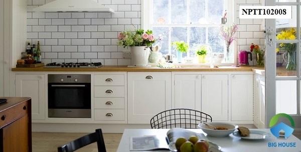 TOP mẫu gạch ốp bếp màu trắng Ấn tượng – Sang trọng nhất