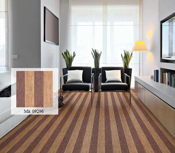gạch vân gỗ lát nền 40x40 độc đáo