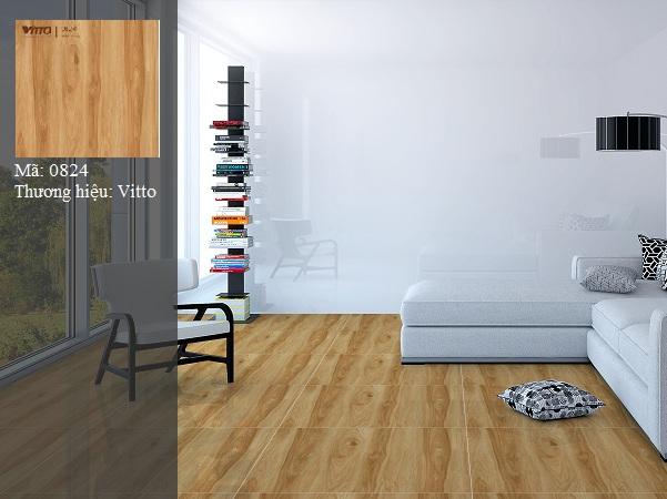 gạch vân gỗ vitto 80x80 mang vẻ đẹp tự nhiên